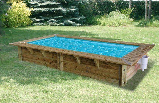 piscina de madera Rect 3,50 X 2 X 0,71m Pinterest