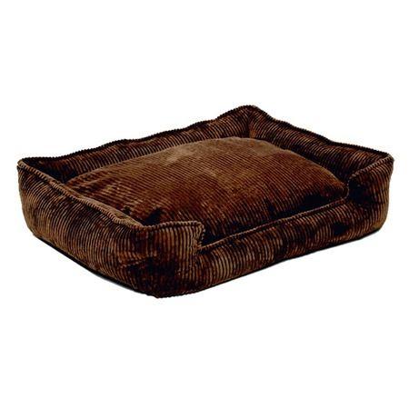 Click Image Above To Jax And Bones Choco Corduroy Lounge Dog Bed Xlarge