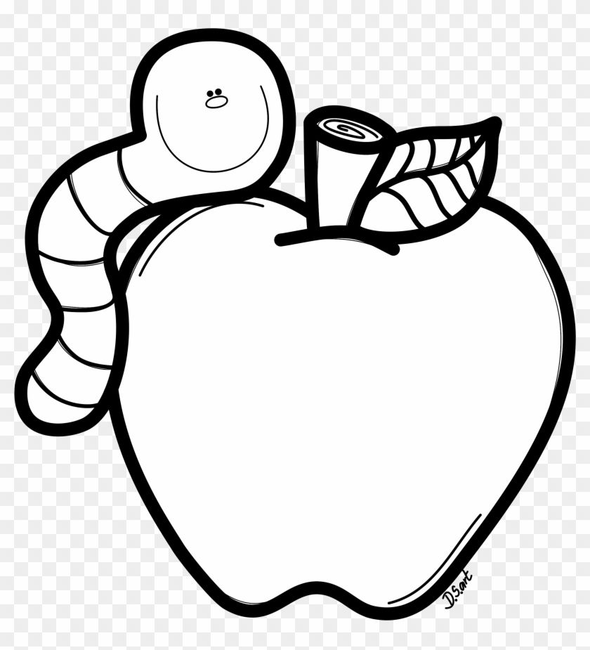 Download And Share Clipart About Black And White Coloring Page Of Apple And Worm Black And White Coloring Pag Coloring Pages My Little Pony Coloring Clip Art