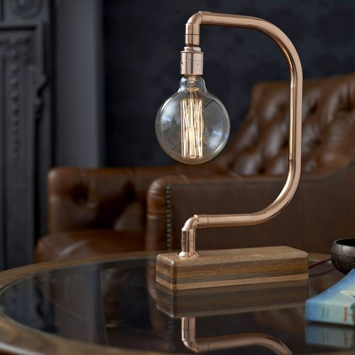 All desk lamps should be awesome but this handmade d light copper desk lamp