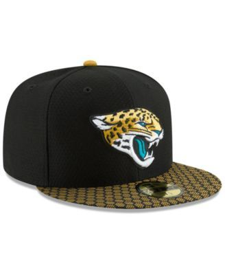 sports shoes a5036 f4063 New Era Boys  Jacksonville Jaguars Sideline 59FIFTY Fitted Cap - Black Gold  6 3 4