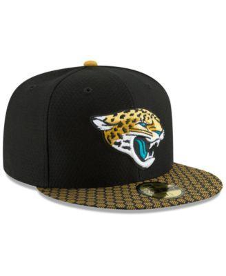 7efd85ec5 New Era Boys  Jacksonville Jaguars Sideline 59FIFTY Fitted Cap - Black Gold  6 3 4