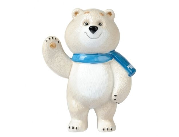 "The Sochi mascots look great in the Russian Olympic promo materials. | The Sochi Mascot Known As ""Nightmare Bear"" Will Haunt Your Life"