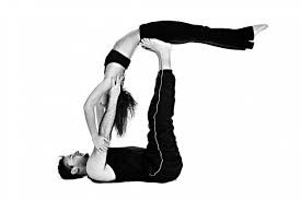 image result for partner yoga poses  couples yoga poses