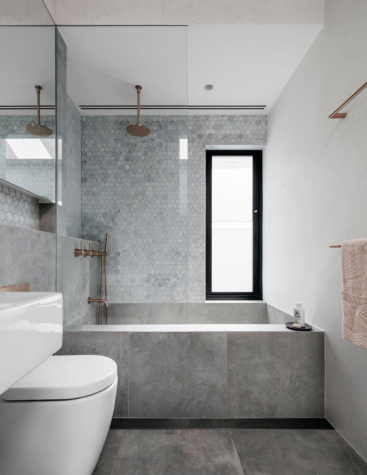 Uberlegen Dieses Schöne Kleine Badezimmer Wurde Mit Viel Liebe Zum Detail Gestaltet  #BetonoptikFliesen