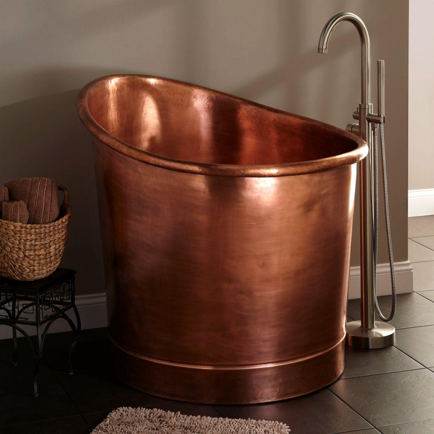 Copper Japanese Soaking Tub Zoom Superior Copper Soaking Tub