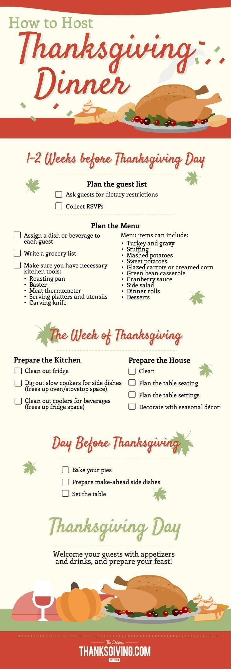 How to Host Thanksgiving Dinner How to Host Thanksgiving Dinner