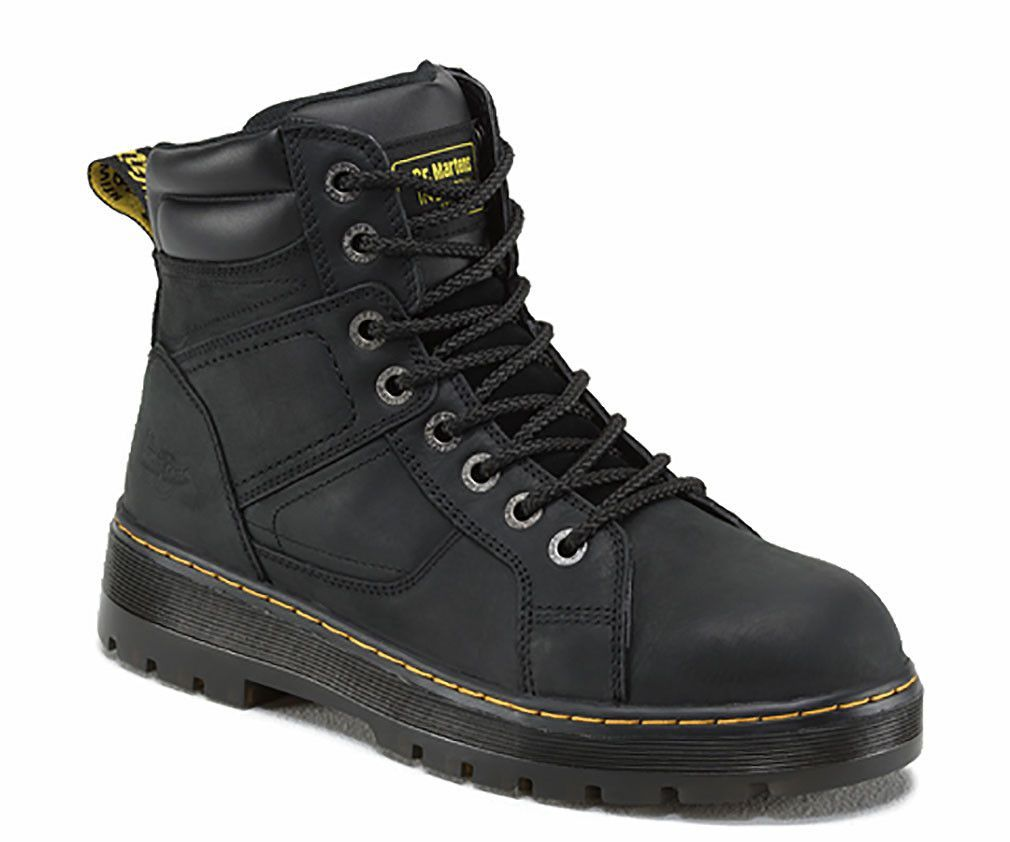 Mens Safety Shoes Dr Martens Duct Safety Toe Mens Black Wyoming Shoes Safety Shoes Outlet Sale