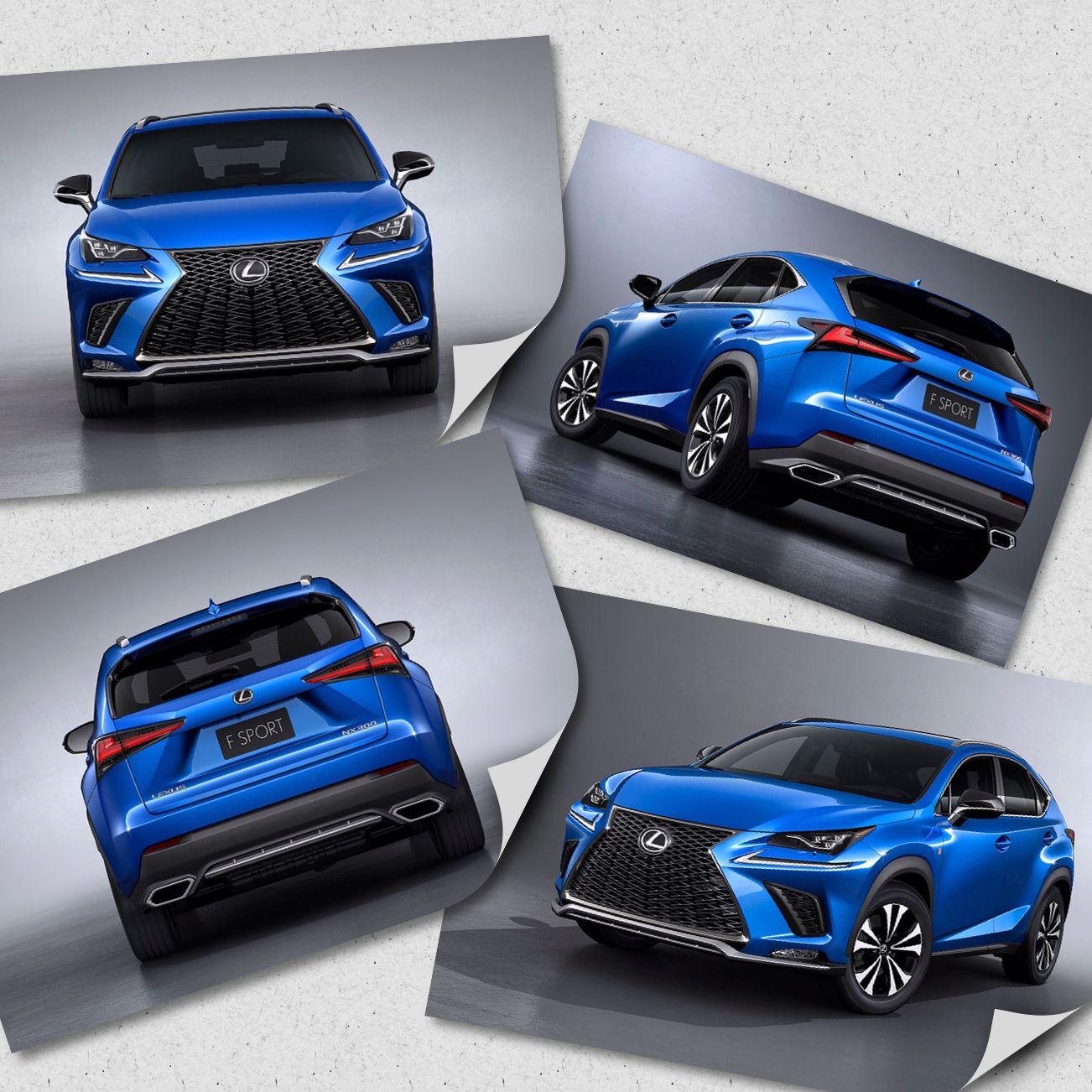 2018 Lexus NX 300 F Sport Lexus F Sport Cool cars, I