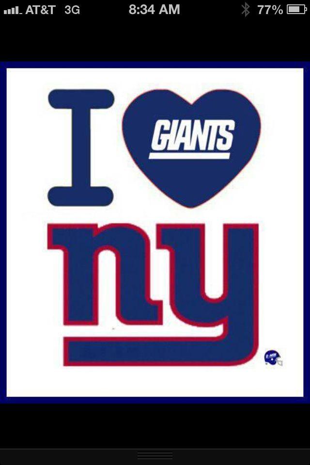 b71e89377 I Love NY Giants Football