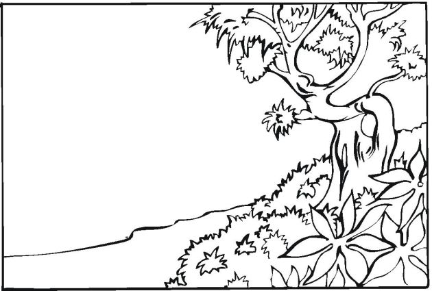 Free Landscape Coloring Pages | printables | Pinterest | Coloring ...
