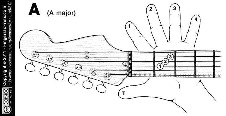 A Helpful  Interactive Diagram For You To Visualize Where Your Fingers Go