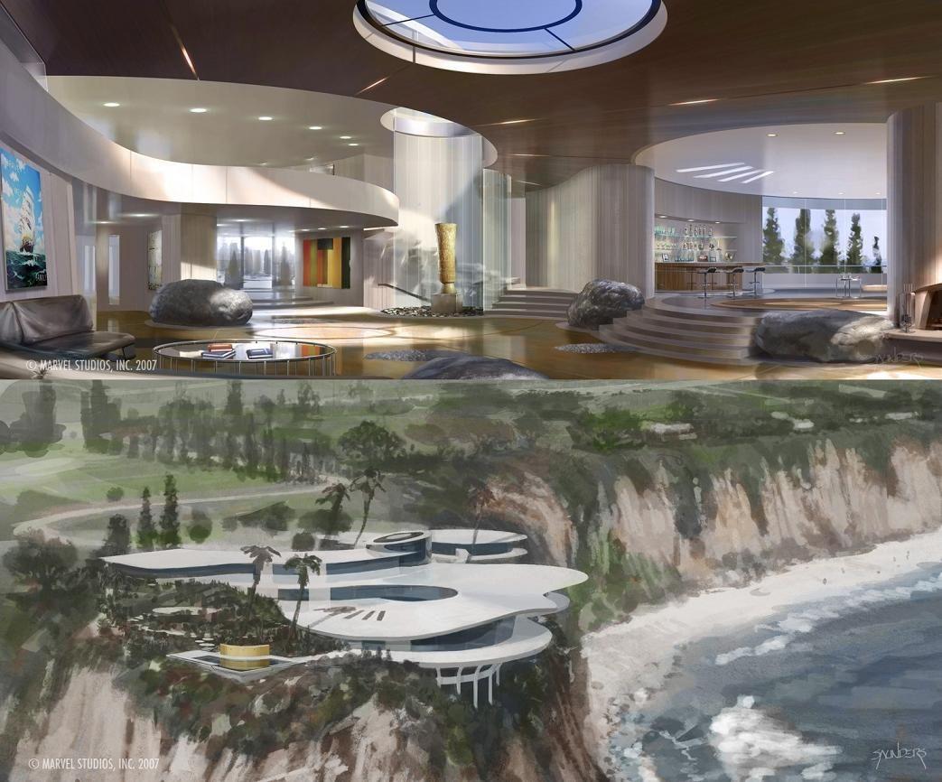 Tony Stark's house | Tony stark house, Luxury homes dream ...