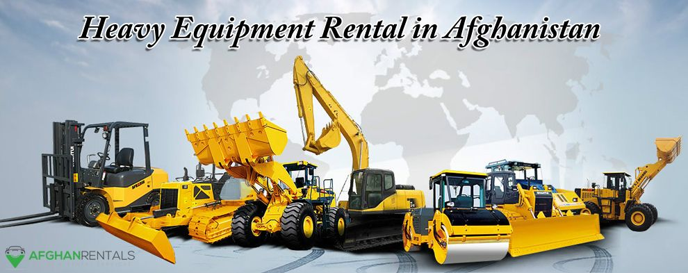 Afghan Rentals Provides #Heavy_Equipment & #Machinery