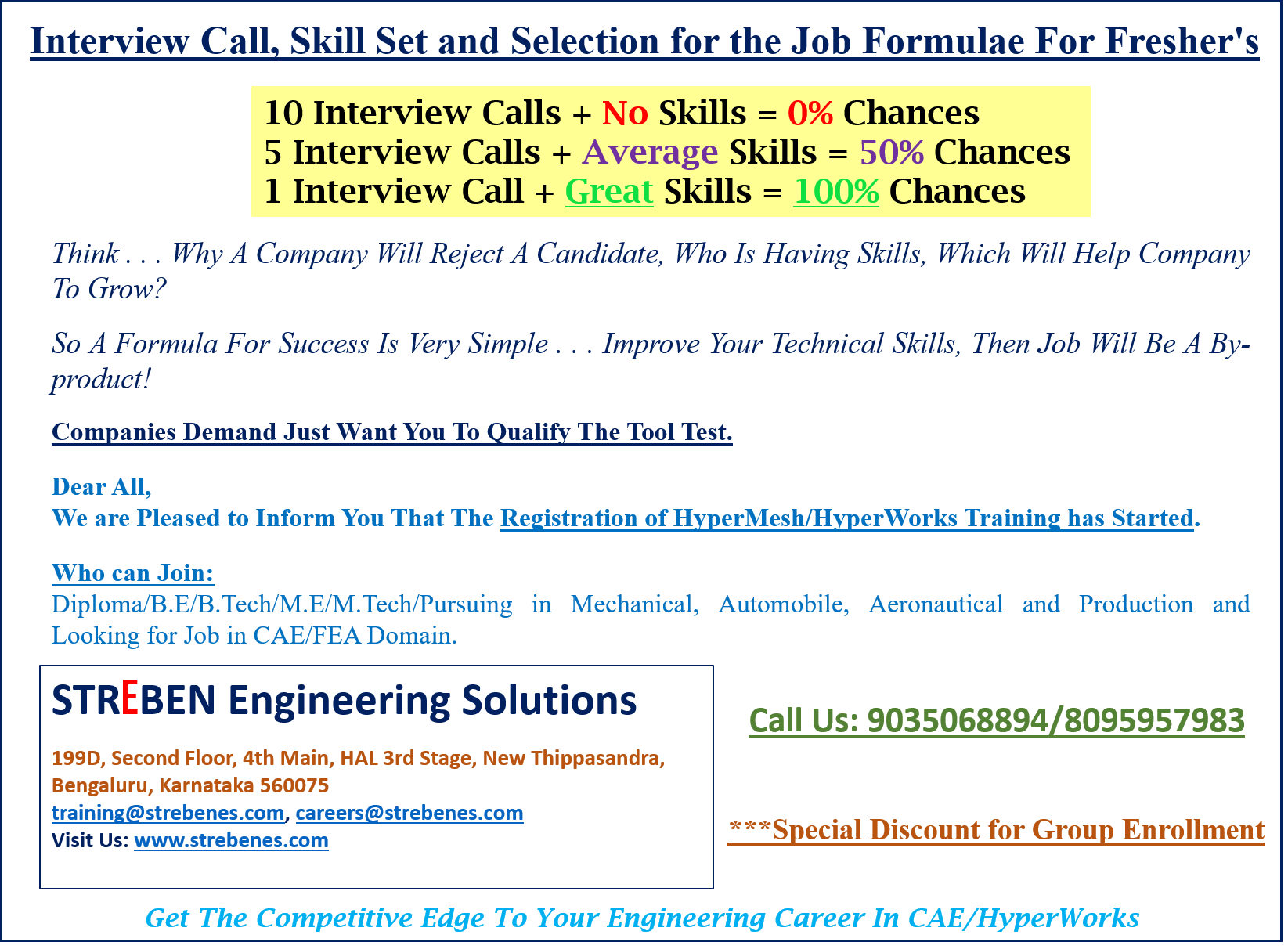 On The Job Training Jobs Program Is Specially Designed In