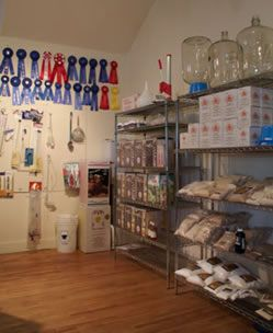 Organized Home Brewery   Storage!