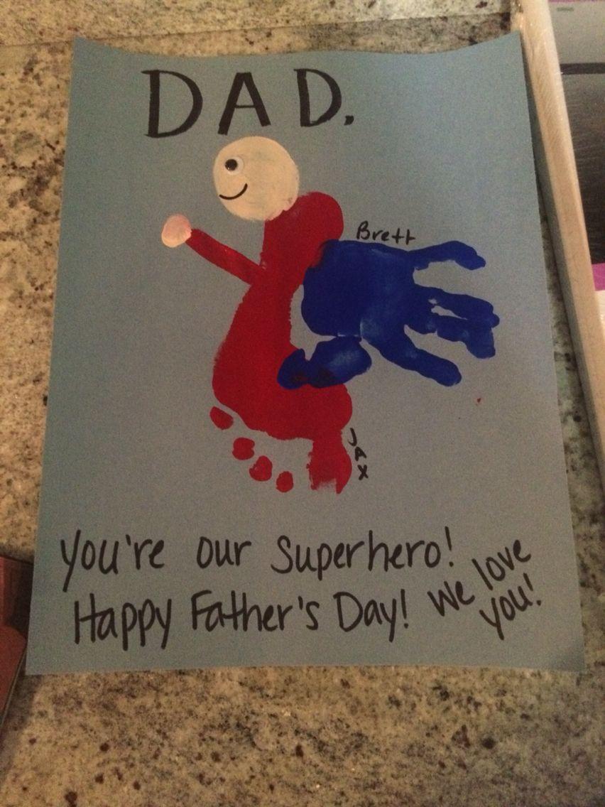 Super hero dad