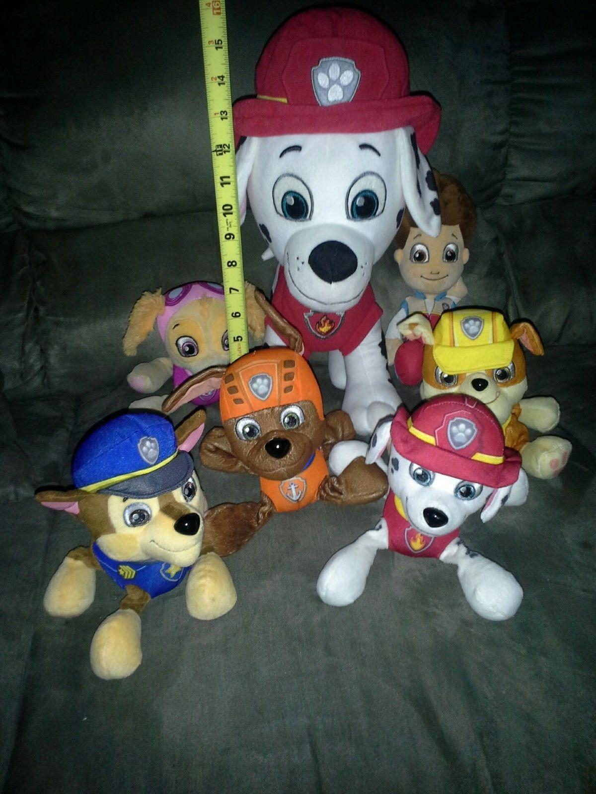 39 99 7 Paw Patrol Stuffed Animals Incl 16 Marshall Toy Plush