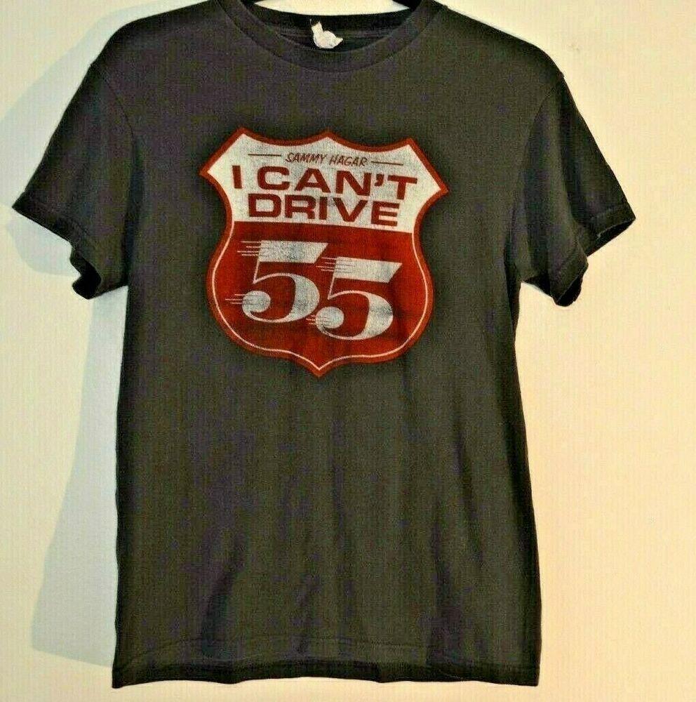 80s Sammy Hagar Cant Drive 55 Rare 100 Cotton T Shirt Size S See Measurements Fashion Clothing Shoes Accessorie Vintage Clothing Men Cotton Tshirt Shirts