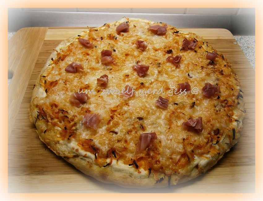 Kürbis - Pizza