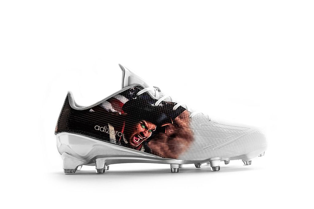 Adidas Uncaged Patriot Cleat.