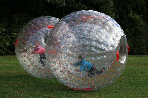 We Added 4 More Zorb Balls This Year This Means Even More Fun A