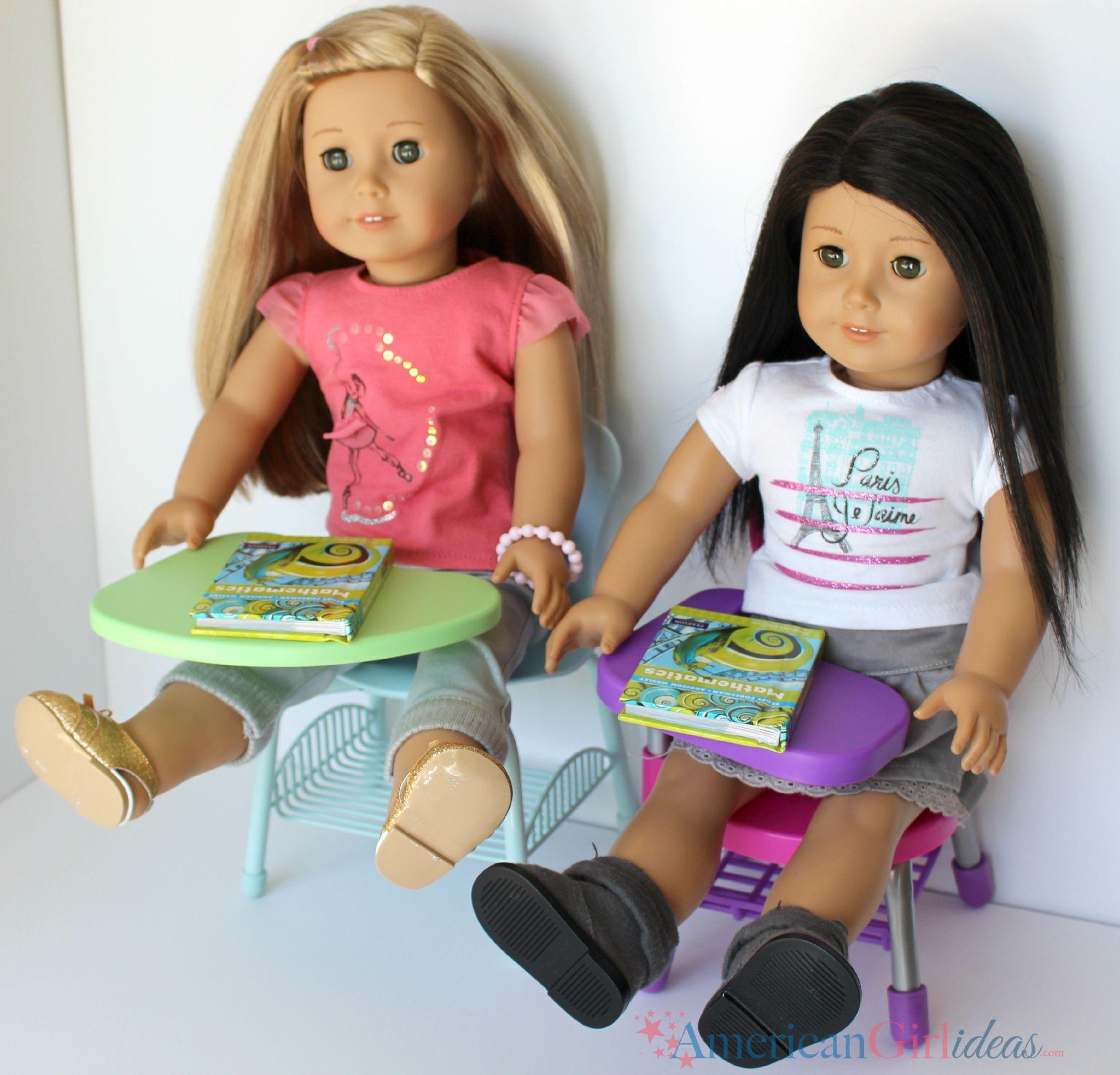 Journey Girl Dolls, School Desks