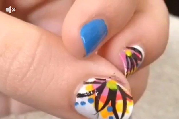 This 14 Year Old Girl Does The Most Amazing Nail Art Vines Ever Fun Nails Nails Nail Art