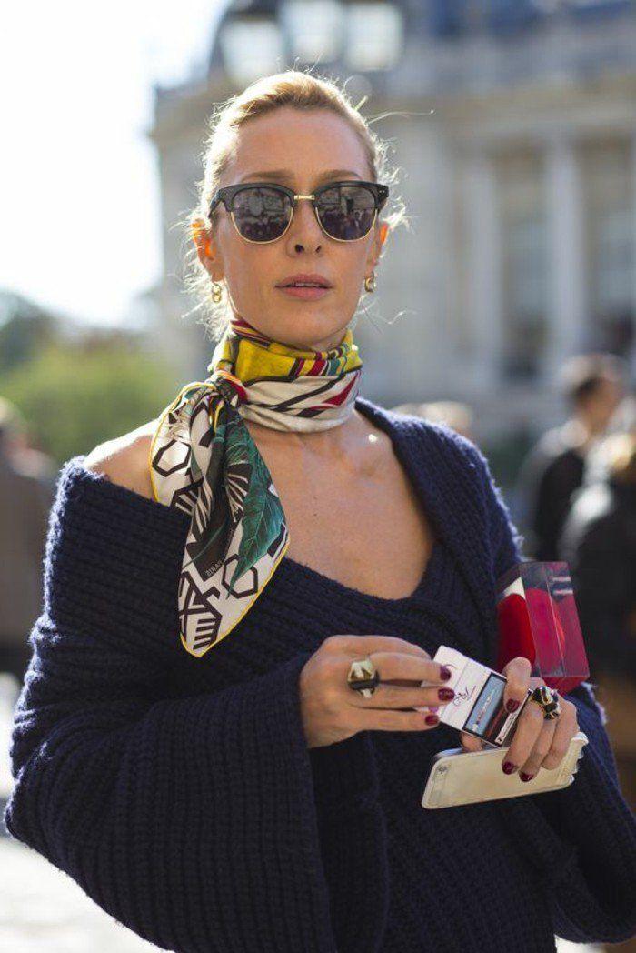 ca53e9fedd63 Mille façons d être belle ou comment porter un foulard - Archzine.fr ...
