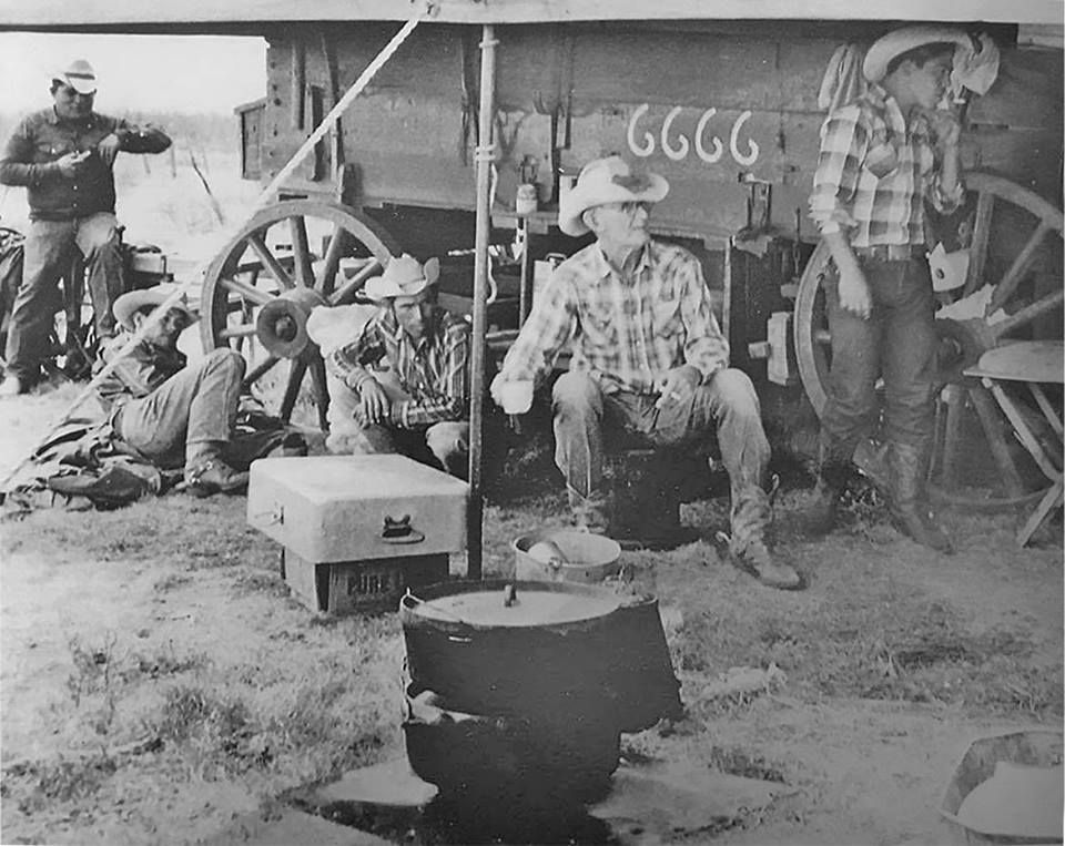 1964 at the 6666 Ranch. The 6666 Ranch (a.k.a. Four Sixes