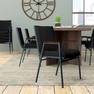 Brayden Studio Dewalt Heavy Duty Fabric Stacking Chair With