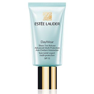 """Estee Lauder daywear sheer tint. """"Fantastic tinted moisturiser that adjusts to your own skin tone and gives a perfect healthy glow all year round."""""""