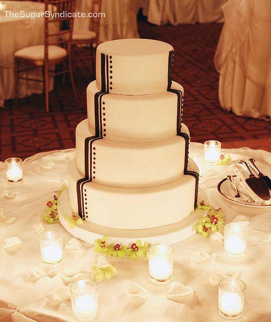 Art Deco Wedding Cake | Wedding cake designs, Wedding cake and Art deco