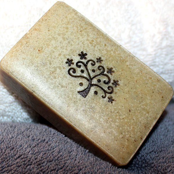 Cardamom Rose Geranium scented soap