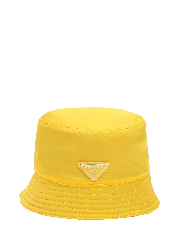 71a3b83b248 PRADA NYLON RAIN HAT.  prada