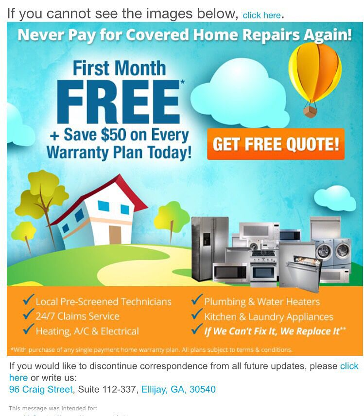 Never Pay For Covered Home Repairs Again  Save $50  Limited