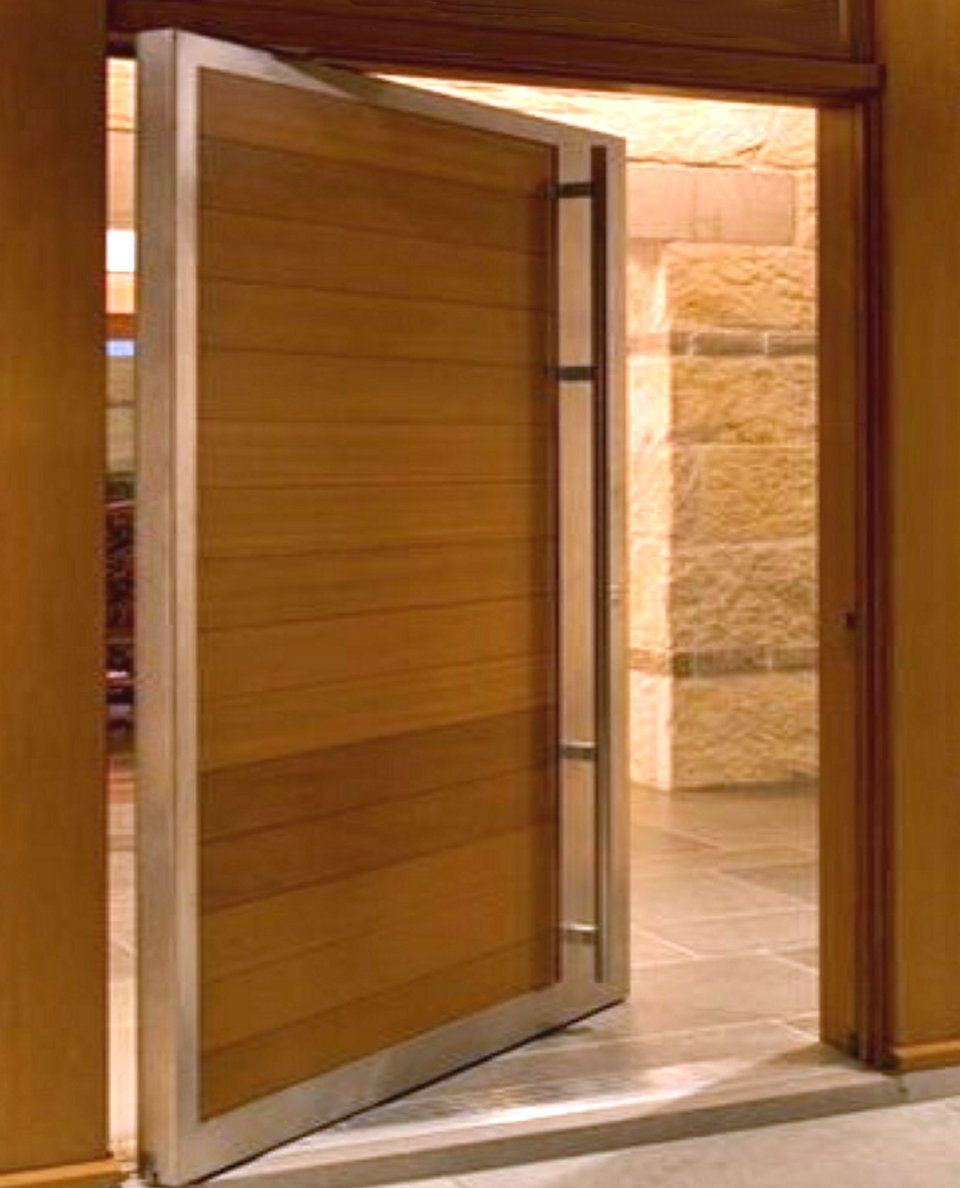 Choosing The Right Modern House Plans For Designing Your: Choosing The Best Doors For