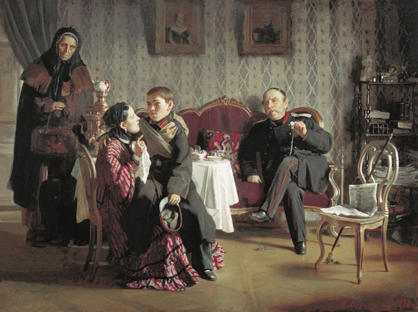 Aleksei Korzukhin O Mundo Da Arte Pintura Russa Mundo Da Arte