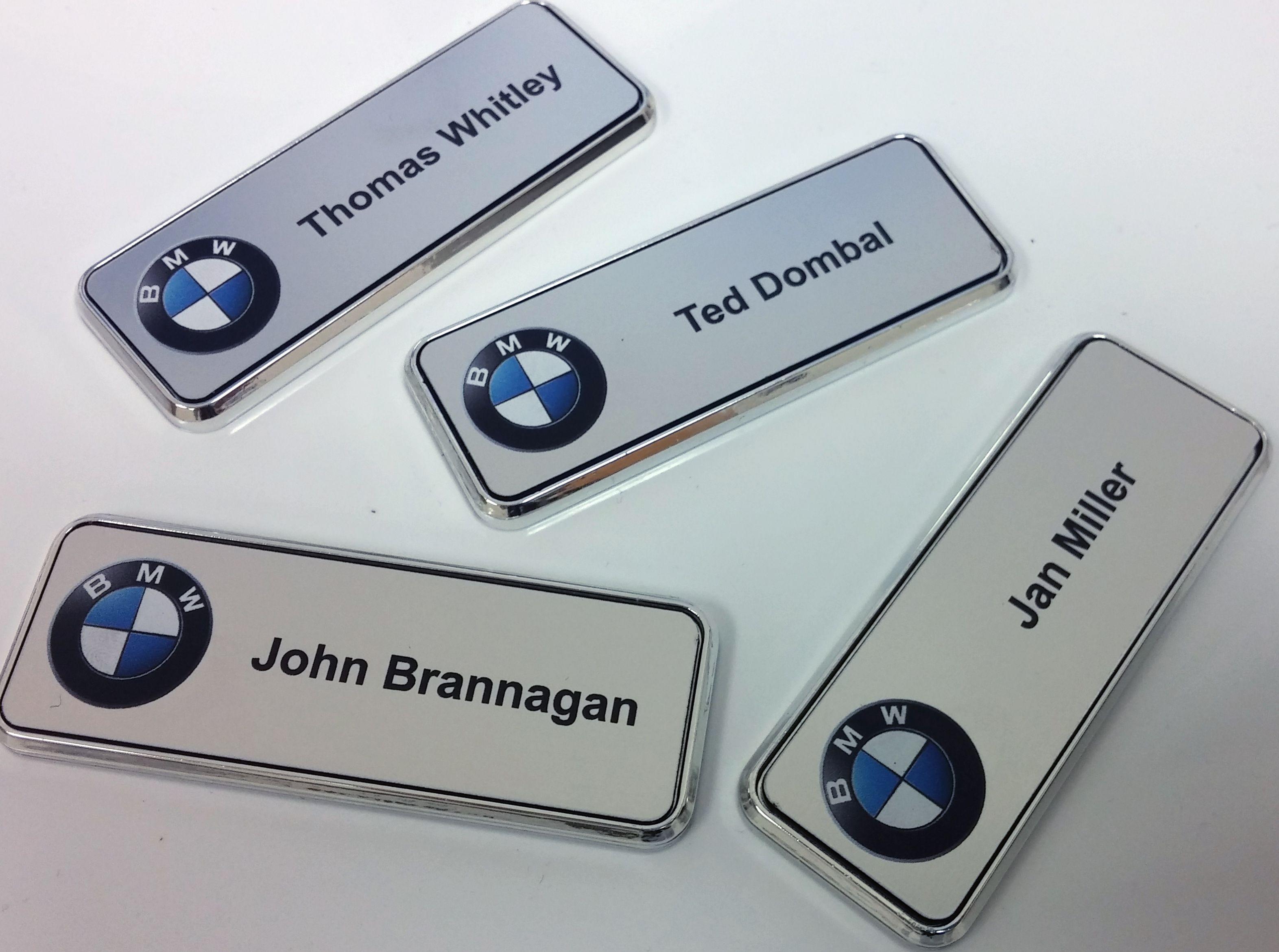 Bmw name badges from namebadge namebadge nametags bmw silver bmw name badges from namebadge namebadge nametags bmw silver solutioingenieria Choice Image