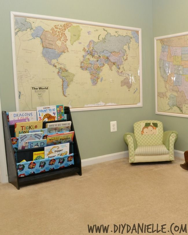 Framing Maps with Moulding for Wall Decor | Wall decorations ...