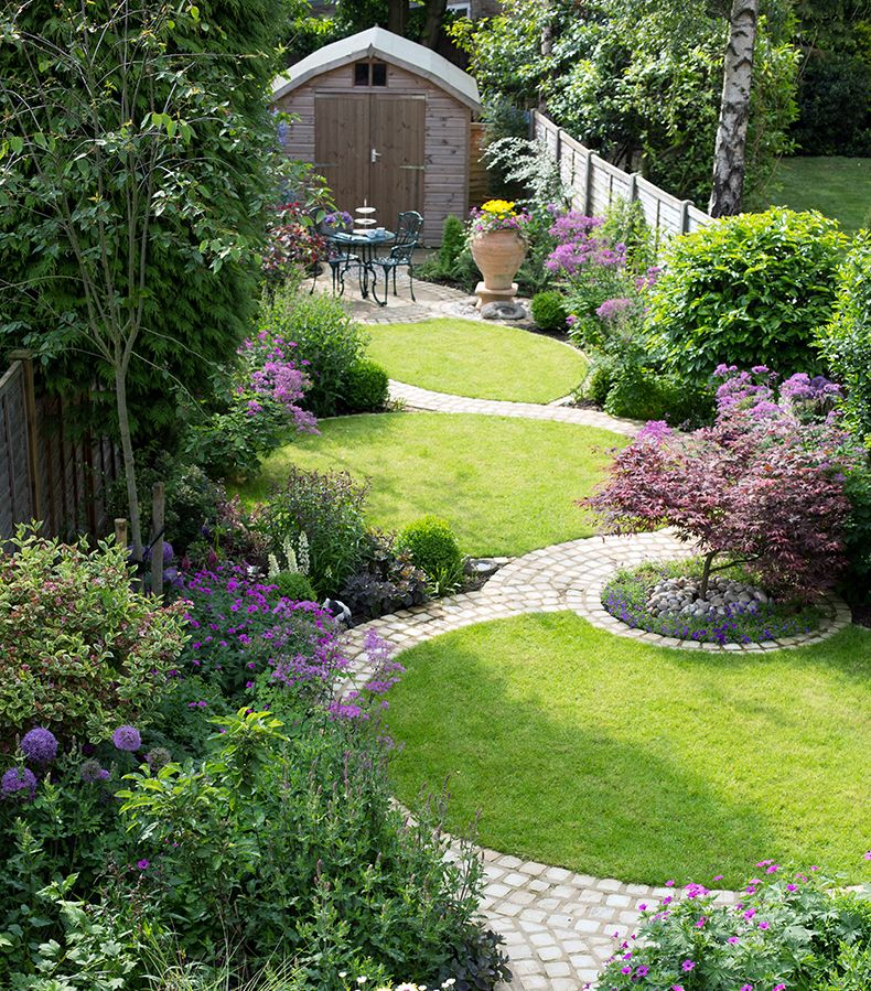 Garden Ideas Designs And Inspiration: I Like How The Curves And Circles Integrate Individual