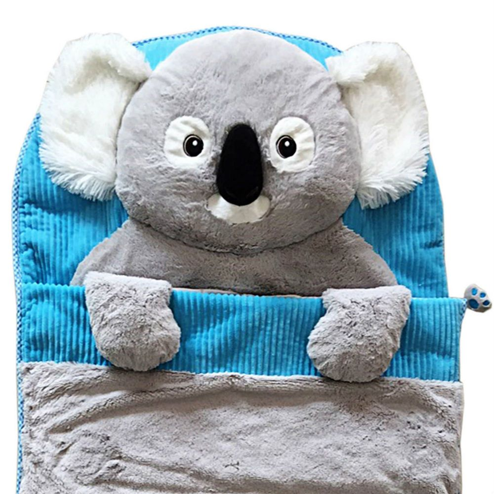 Children S Sleeping Bag Soft Plush Koala Kids Travel Camping Sleepover Bed Hugfun For The Kids Sleepover Beds Koala Kids Sleepover