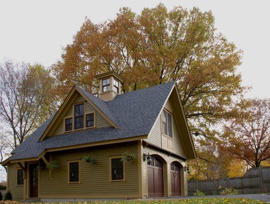 Carriage house exterior designs garage plans hwbdo08179 for Garage exterior design ideas