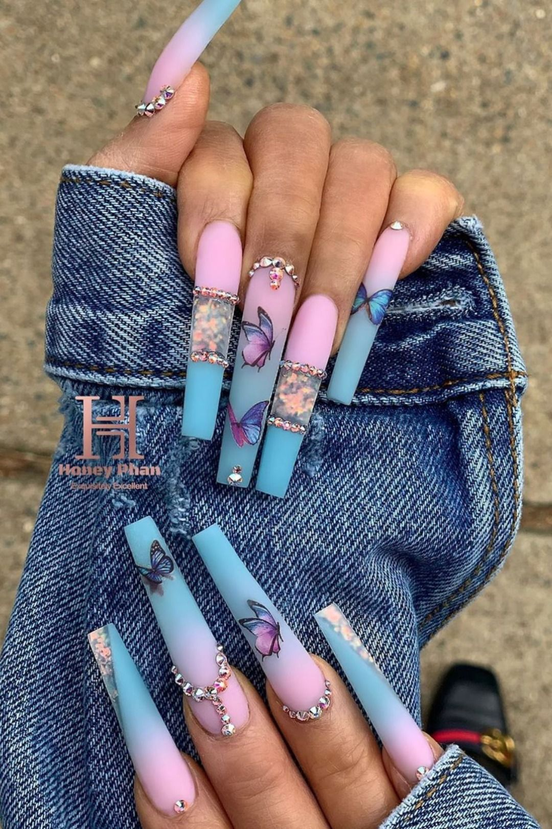 Cute Spring Long Coffin Nails Ideas of 2020 | Styl