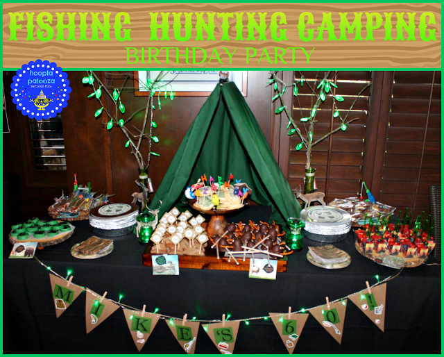 http://hooplapalooza.blogspot.com.au/2015/08/fishing-hunting-camping-birthday-party.html