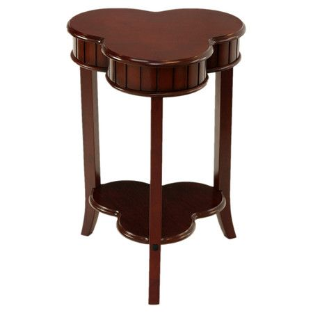 Found it at Wayfair  Passport Clover End Table  they