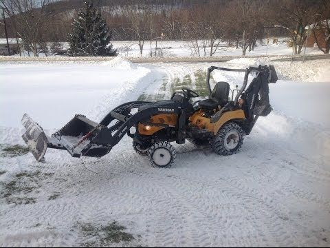 Yanmar Sc2450 2400 4x4 Clearing 10 Of Snow Snow 4x4 10 Things