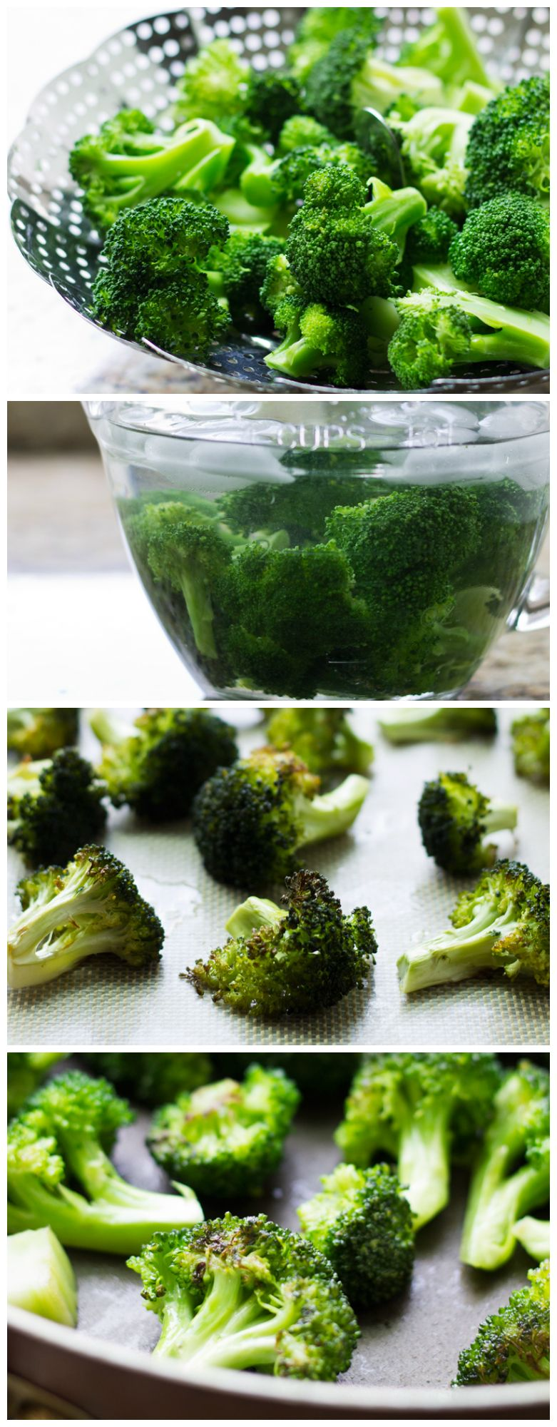 Broccoli Four Ways includes 4 different preparation methods and suggestions for interchangeable flavors and toppings. | Culinary Hill