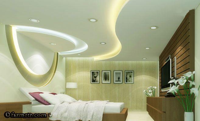 Artistic False Ceiling For Bigger Bedrooms False Ceiling Design