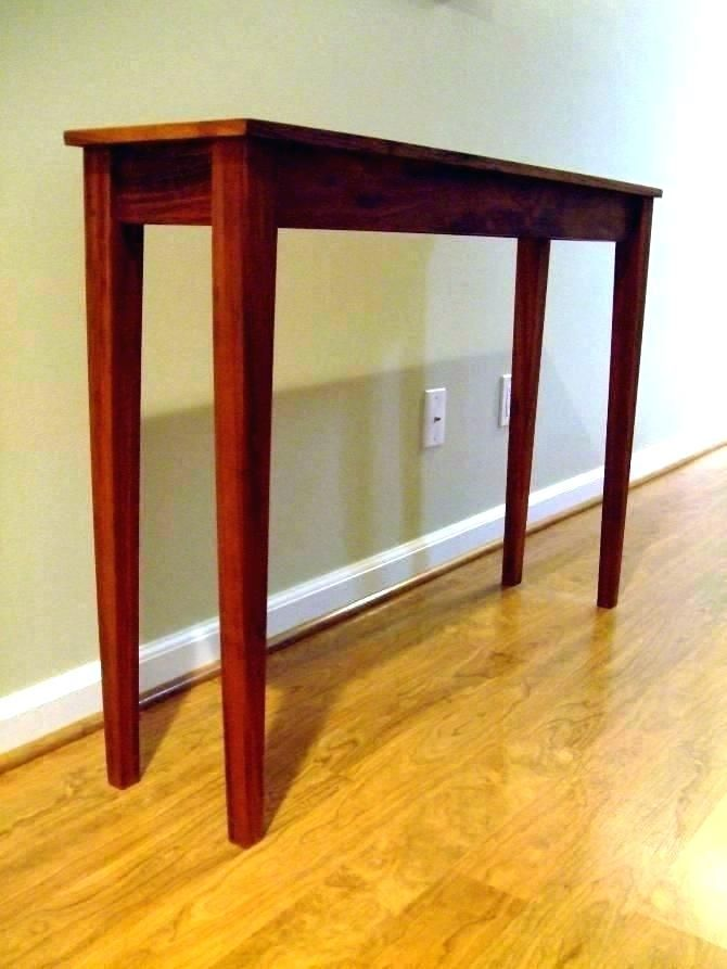 Narrow Entry Table Thin With Drawers Small Hall Entryway